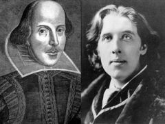 William Shakespeare & Oscar Wilde
